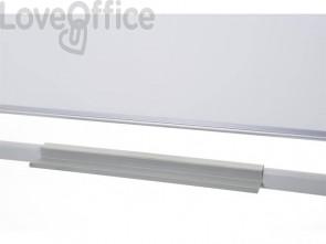 Lavagna cancellabile Q-connect girevole non magnetica 120x90 cm bianco QR0201