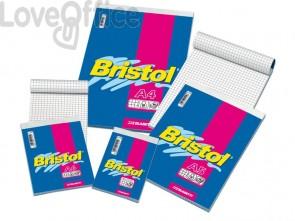 Blocchi a righe punto metallico Blasetti BRISTOL 60 fogli - 1R - A4 - 21x29,7cm (conf.10)