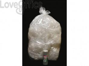 Sacchi immondizia ROLSAC in polietilene rigenerato capacità 97 l NEUTRO rotolo da 10 pz. - 10469