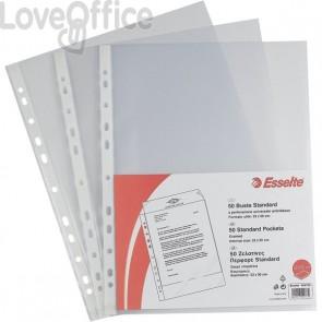 Buste a foratura universale A4 Copy Safe Esselte - Standard 22x30 cm - goffrata (conf.25)