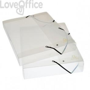 Cartelle archivio Box Cristallo Exacompta - Dorso 2,5 cm