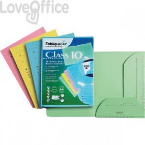 Cartelline Chemise per cartelle sospese Ultimate® L'Oblique - assortiti (conf.10)