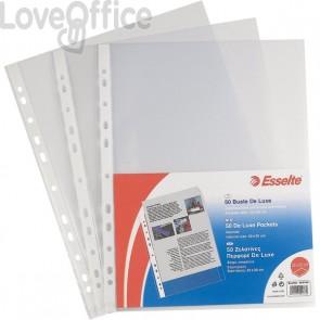 Esselte buste a foratura universale A4 Copy Safe - Office 22x30 cm - liscia lucida (conf.50)