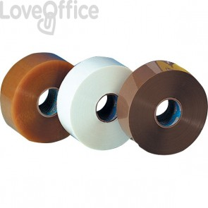 Nastro da imballaggio Bonus Tape Syrom - svolgimento rumoroso - 50 mm x 200 m - avana - 8542