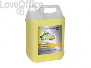 Sgrassatore pavimenti professionale fragranza limone Svelto 5 L giallo 7514364