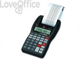 Calcolatrice scrivente da tavolo OLIVETTI Summa 301 EU con display LCD a 12 cifre nero - B4621 000