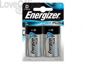 Batterie ENERGIZER Max Plus D  conf. da 2 - E301323900
