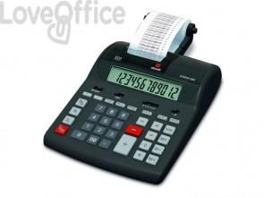 Calcolatrice scrivente da tavolo OLIVETTI Summa 302EU con display LCD a 12 cifre nero - B4645 000