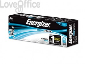 Batterie ENERGIZER Max Plus AA  conf. da 20 - E301323500