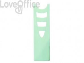Portariviste ARDA Keep Colour Pastel polistirolo verde 7,5x26,6x27,8 cm 7118PASV