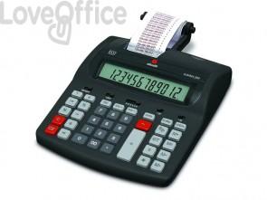 Calcolatrice scrivente da tavolo OLIVETTI Summa 303EU con display LCD a 12 cifre nero - B4646 000
