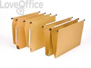 Cartelle sospese per cassetti AVANA 33 cm. fondo U3 avana Conf. 50 pezzi - 060/330 Beta 3 -B1