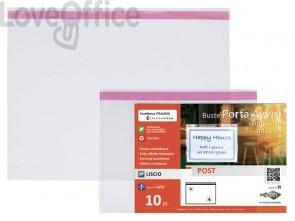 Buste a U Sei Rota Post A5 Album trasparente conf. 10 buste - 410021