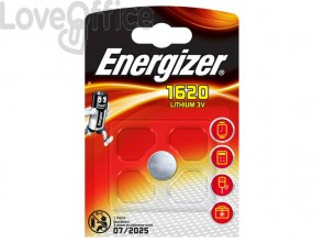 Batteria al litio a bottone ENERGIZER CR1620 - E300844001