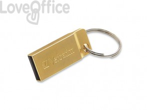 Chiavetta USB 3.0 Metal Executive Verbatim 64 GB 99106
