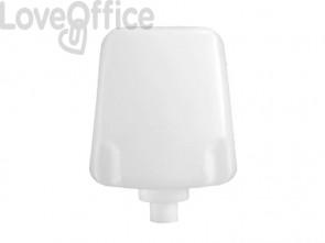 Cartuccia di sapone schiuma per IN-FOA/WC QTS capacità 800 ml cartuccia bianca, sapone azzurro