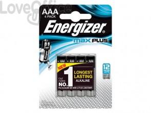 Batterie ENERGIZER Max Plus AAA  conf. da 4 - E301321400