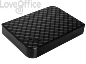 Hard Disk Esterno Store'n ' Save 3.0 Verbatim 8 TB - nero 47687