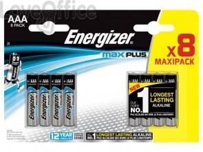 Batterie ENERGIZER Max Plus AAA  conf. da 8 - E301322500