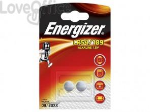 Batterie alcaline a bottone ENERGIZER LR54/189 conf. da 2 - 639320