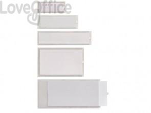 Portaetichette adesive Sei Rota IesTI A1 C.R. trasparente conf. 100 pz. - 320411