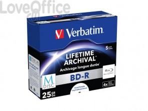 Blue-Ray BD-RE M-Disk Verbatim 25 GB  43823