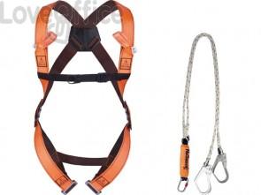 Kit anti-caduta Imbracatura 2 punti di ancoraggio arancio - Dispositivi di sicurezza DELTA PLUS - ELARA280