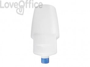 Cartuccia rigida di sapone liquido per IN-SO1/WC QTS capacità 1000 ml cartuccia bianca, sapone azzurro