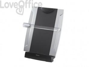 Leggio da scrivania FELLOWES Office Suites nero/argento 38,10x26,04x15,24 cm 8033201