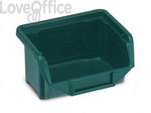 Sistema di contenitori sovrapponibili TERRY Eco Box 110 verde 1000424