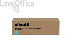 Toner Olivetti ciano B0821