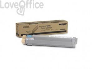 Toner alta capacità Xerox ciano  106R01077
