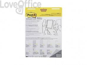 Blocco di fogli da parete Post-it® Super Sticky 63,5x77,5 cm 30 ff bianco 559 (conf.2)