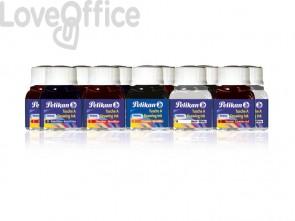 Flacone inchiostro di china Pelikan 523 - 17 10 ml assortiti - 249474 (conf.10)