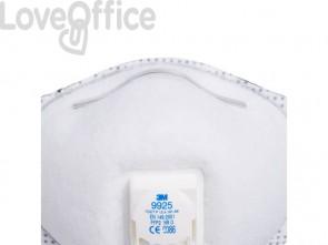 Respiratore monouso 3M FFP2 con valvola n/a 9925