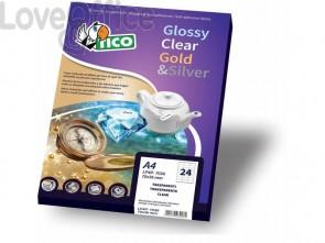 Etichette rettangolari TICO 61x36 bianco  100 fogli - PG4-6136
