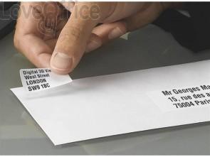 Mini etichette bianche per indirizzi AVERY 45,7x25,4 15 fogli - L7654-15