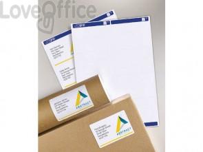 Etichette bianche per indirizzi AVERY per pacchi 99,1x57mm 15 fogli - L7173-15