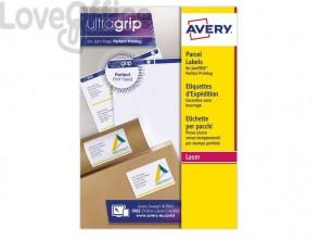 Etichette bianche per indirizzi AVERY per pacchi 199,6x143,5mm 15 fogli - L7168-15