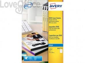 Copertine scrivibili per DVD AVERY 273x183mm 25 fogli - J8437-25