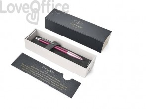 Penna a sfera a scatto Parker Urban Premium M Dark Purple CT 1931569