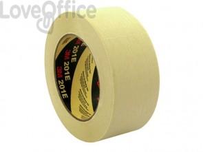 Nastro per mascheratura 3M in carta crespata beige 201E 18X50