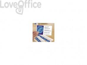 Biglietti da visita personalizzabili AVERY bianchi satinati 85x54mm 10 fogli - C32026-10