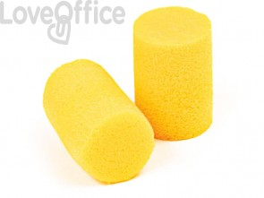 Inserti auricolari 3M giallo  boccione da 500 paia - PD-01-001