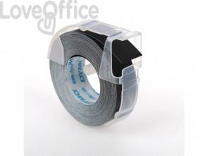 Nastro a rilievo 3D per etichettatrici Dymo vinile 9 mm x 3 m nero S0898130