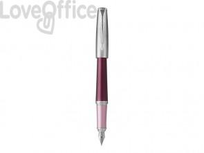 Penna Stilografica Parker Urban Premium Pennino M Dark Purple CT 1931568