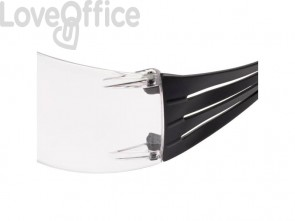 Occhiali di protezione 3M SecureFit™ 400 rosso/grigio SF401SGAF-RED