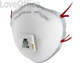 Respiratore monouso 3M FFP3 con valvola  8833