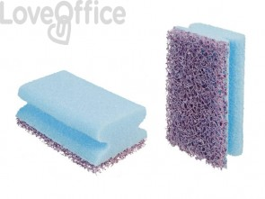 Spugna per superfici difficili Scotch-Brite® salvadita blu/viola conf. da 10 - IUC SB NW LAMINATE LIGHT
