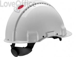 Elmetto di protezione 3M bianco  G3000NUV-VI